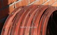 Фланец круглый из уголка 32 х 32 х 4 мм