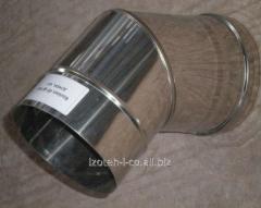 Колено 45° для дымоходов из нержавеющей стали