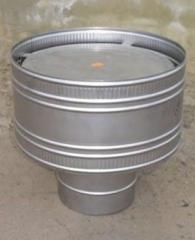 Volper (deflector) for flues and ventilation,