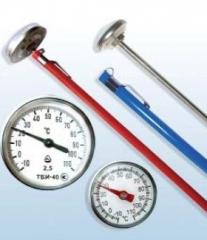 Thermometer bimetallic needle TBI