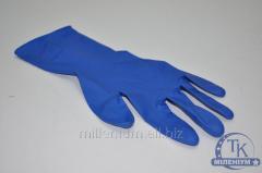 Перчатки латексные latex