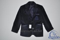 Пиджак для мальчика велюровый от 5 до 8 лет YALCIN
