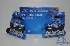 Роликовые коньки раздвижные KEPAI  (30-33)