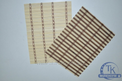 Салфетка бамбуковая 25-35 см. B-9-20