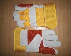 Перчатки ХБ замшусиленные