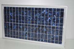 Солнечная панель 30W 18V 30W