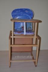 Столик для кормления (бук столешница массив)