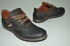 Туфли мужские цвет (тёмно коричневый) из