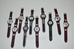 Часы мужские наручные на батарейке (футбол) 00-30