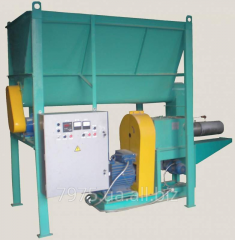 Press for briquetting shnekovy UBT-350