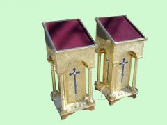 Analogion damask steel molding