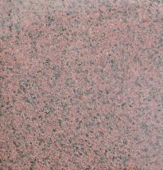 Плитка бучардированная из гранита Симоны Red.