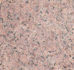 Tile buchardirovanny granite Lezniki