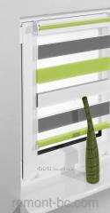 Fabric roleta of Vidella zebra 3 color ZTC-3