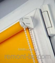 Fabric roleta of open type