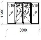 Balcony 3*1,65