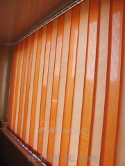 Vertical blinds on a balcony 3*1,6
