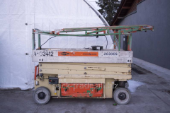 Scissors lift of JLG 2030 ES