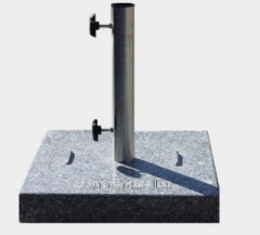 Granite support of TN-45 for a street umbrella