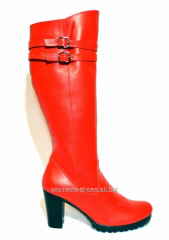 SL 54 red boots