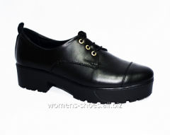 Black A 7 shoes