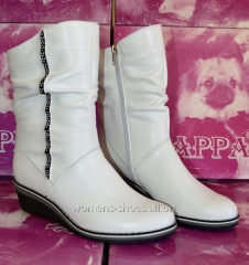 White half boots of BL 26
