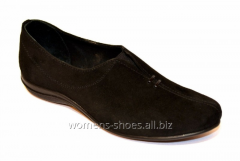 Suede moccasins of ChB 3