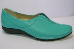 Turquoise moccasins of ChB 3