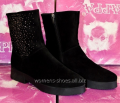 Black suede B 6 boots