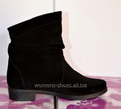 Black suede B 10 boots