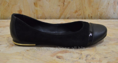 Black suede flats of ChB 6/1
