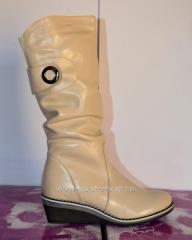 SL 56 beige boots