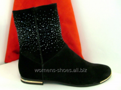 Suede B 6/1 boots