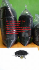 Coconut coal for cleaning of fusel oils