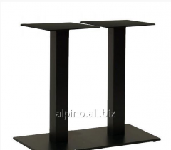 Ножка стола, база Афина черный двойная