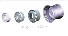 Rims for agricultural machinery
