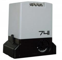 FAAC 741. A drive set for retractable gate
