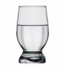 Glass Akvatik of 225 g, 6 pieces.