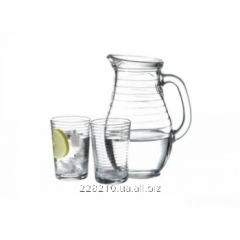 Doro's jug of 1 l. + 6 glasses
