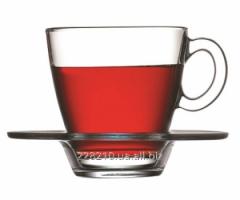Чашка с блюдцем Аква ,6шт.