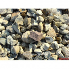 Gravel on object construction with delivery, Kiev,