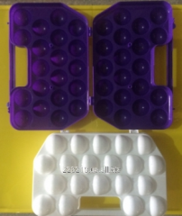 Tray for eggs, 2 tens