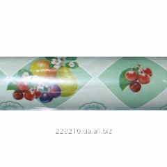 Oilcloth in Dekor rolls, without basis, 50 m