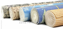 Rugs in rolls rubber Aqua mat of 130 cm