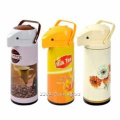 Thermos iron + Art. flask 1,9L
