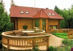 Pensjonaty z drewna cylindrowego