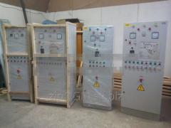 Electrocases (control panels) lines of a