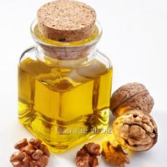 The walnut oil refined in bottles on 500 g.