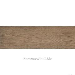 He tile of InterCerama MASSIMA dark is brown 15x50