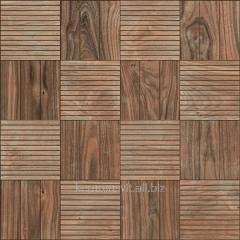 He tile of InterCerama FAGGIO dark is brown 43x43